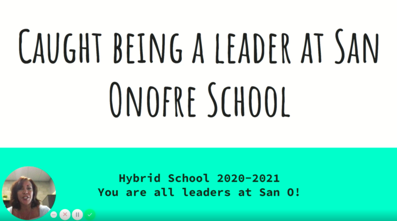 Be a Leader at San Onofre School Featured Photo