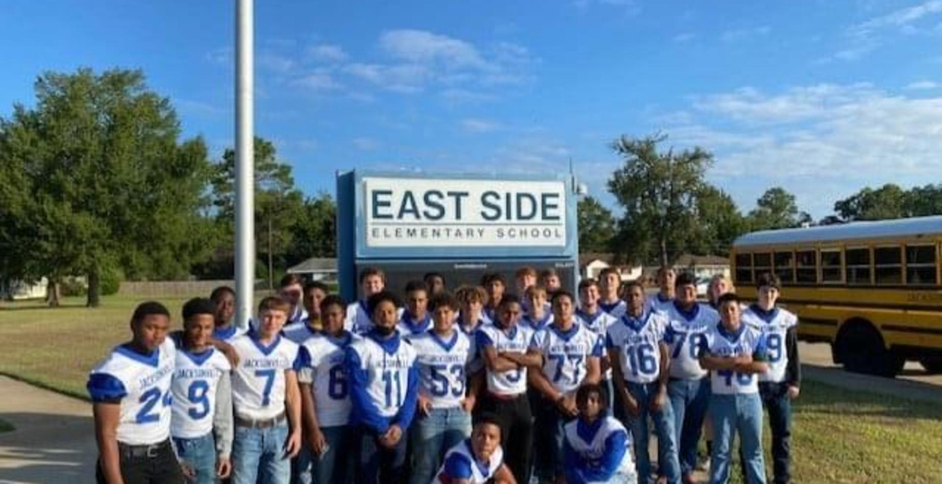 football team at east side