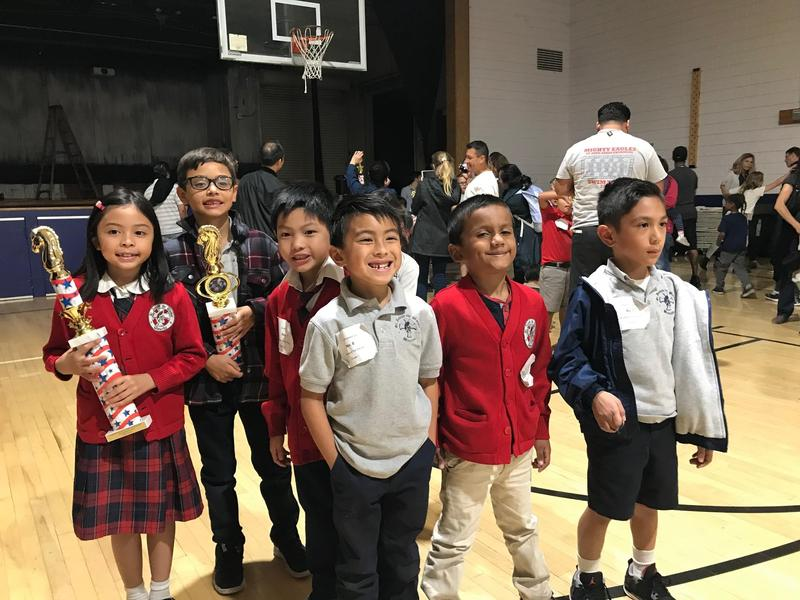 SJW Students Win Awards at the Catholic School Chess Tournament - November 8th Featured Photo
