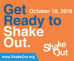 The Great California ShakeOut - Get Ready to ShakeOut! Thumbnail Image