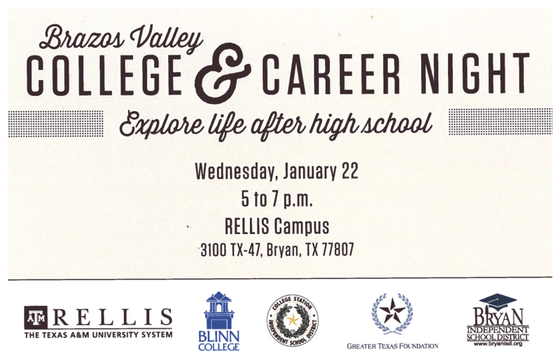 Brazos Valley College & Career Night Featured Photo