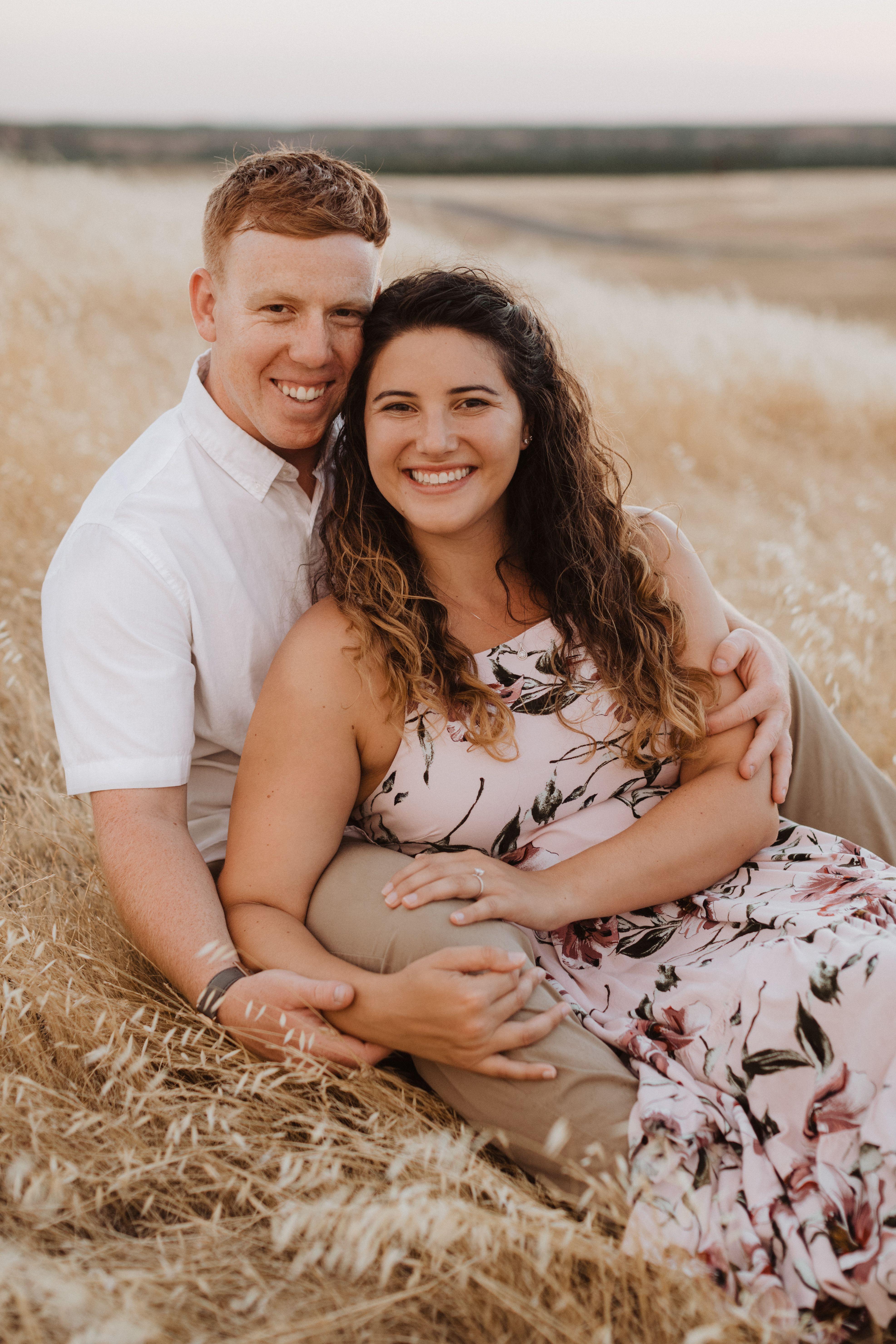 My fiancé and I