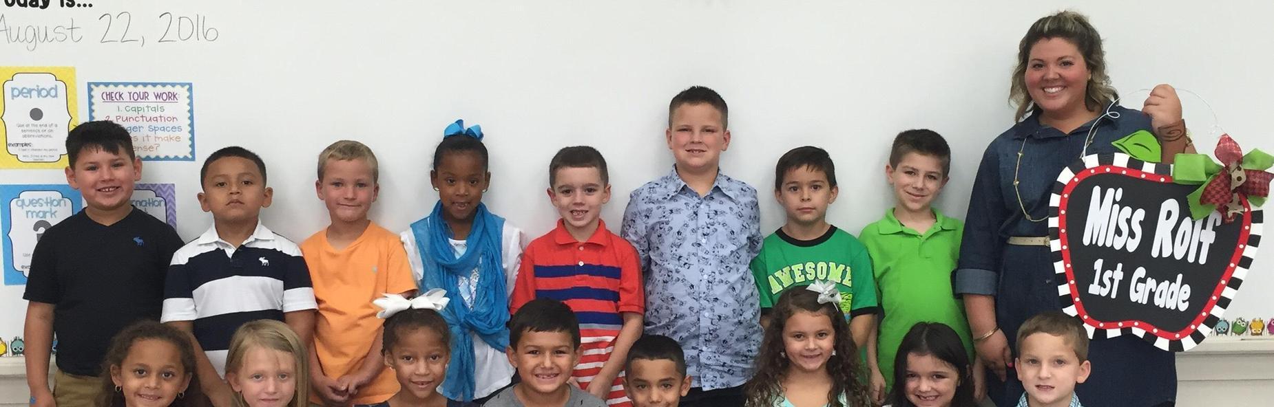 miss rolf first grade class