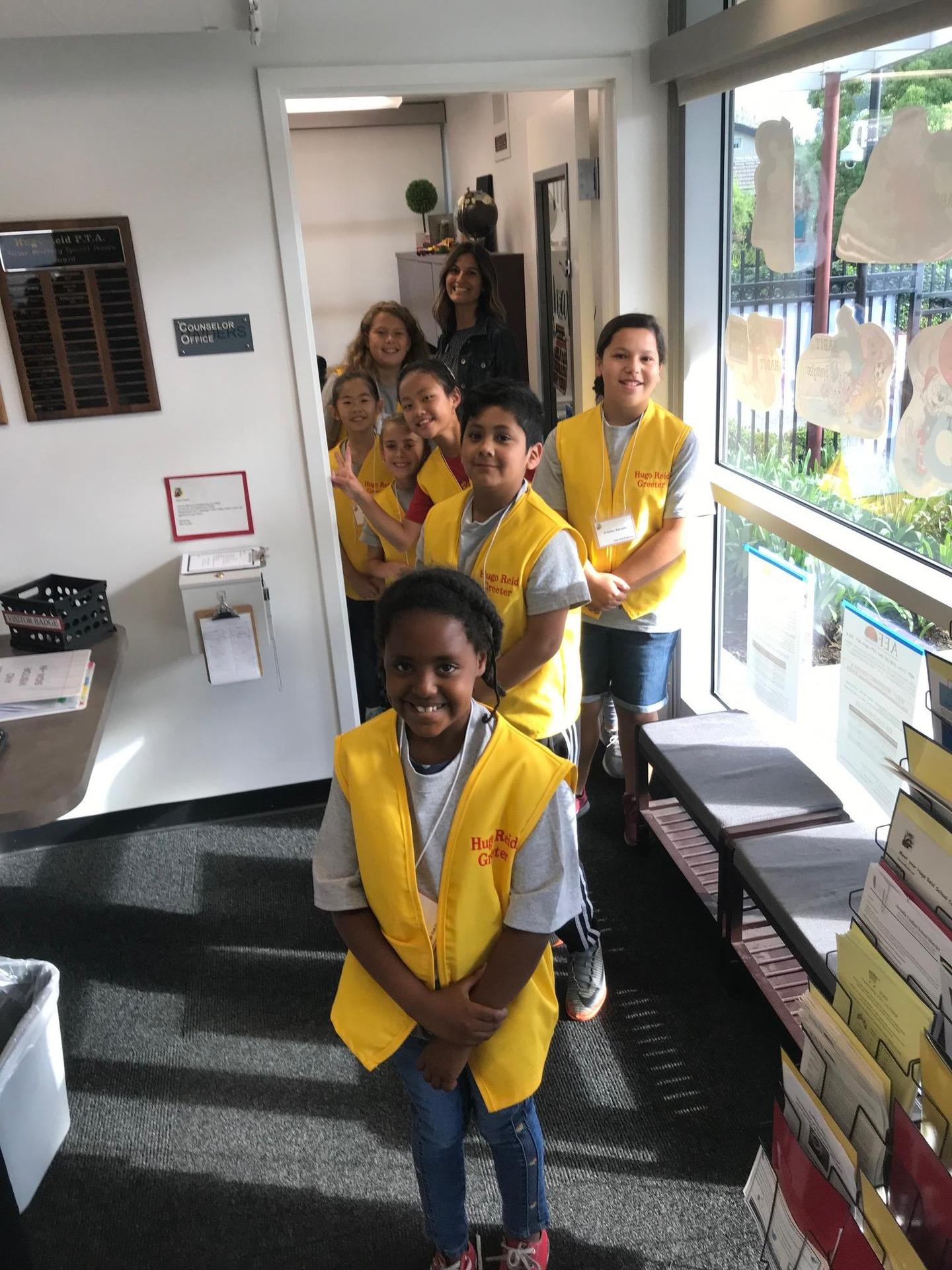 student greeters