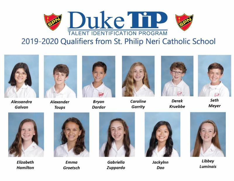 Congratulations to these Seventh Graders who qualified for the Duke Talent Identification Program. Thumbnail Image