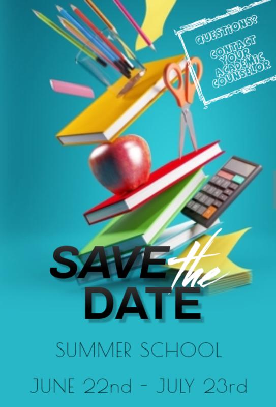Summer School Dates! Featured Photo
