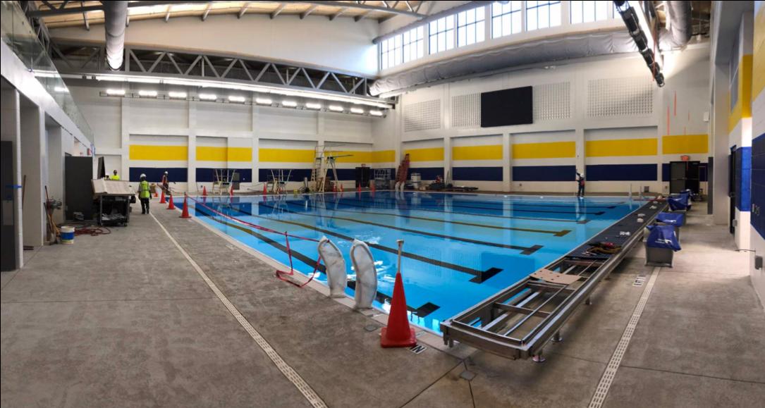 Multi-Use Building natatorium