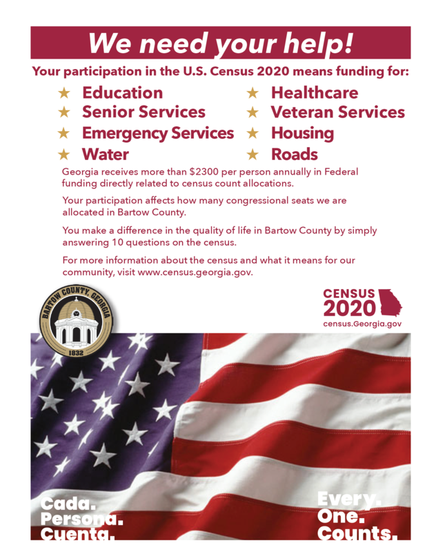Census Participation Needed! Featured Photo