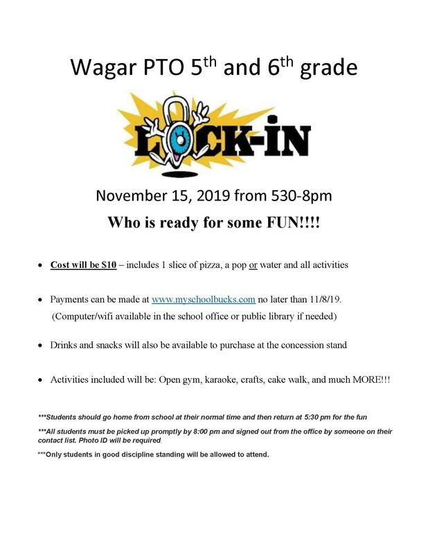 Wagar 5/6 Lock In