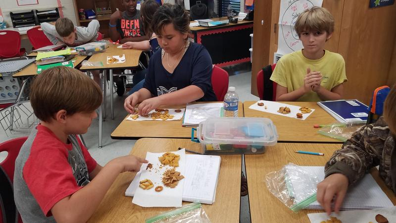 Mrs. Hanchey's 5th Grade Science Class' Physical Change Activity Featured Photo