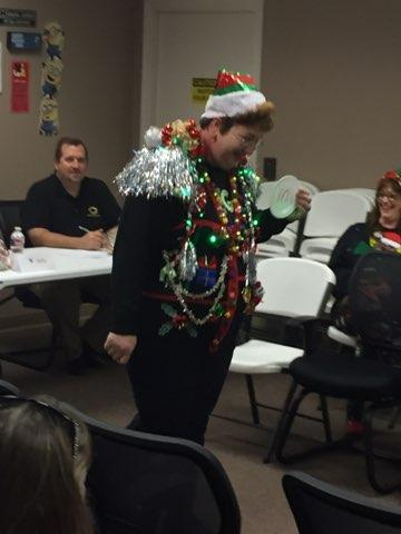 Ugly Sweater Contest 2017