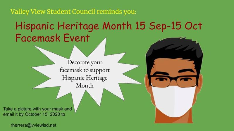 Valley View Student Council Celebrates Hispanic Heritage Month Thumbnail Image