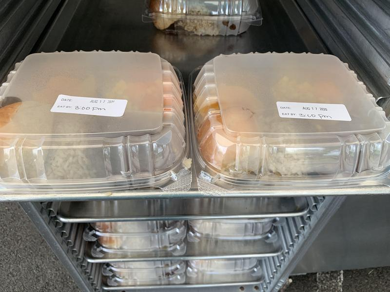 This photo shows an example of a Grab n Go meal