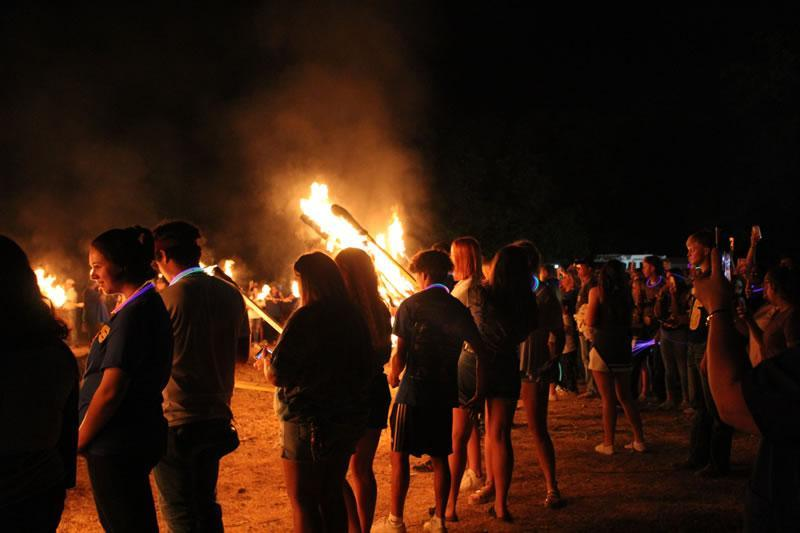 Homecoming Parade/Bonfire 2019