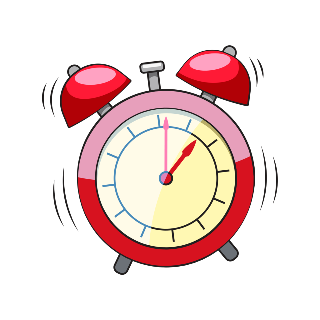 Clip art alarm clock
