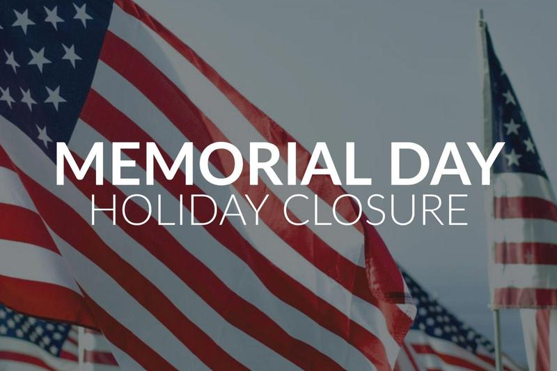 Memorial Day - Monday, May 25th  NO CLASSES Featured Photo
