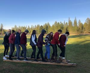 MEAD students enjoyed camp during the last few days of October. Thirty-three students helped prep the UGM retreat site for winter and enjoyed team-building activities together there, including a ropes course.