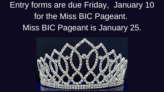 Miss BIC January 25. Featured Photo