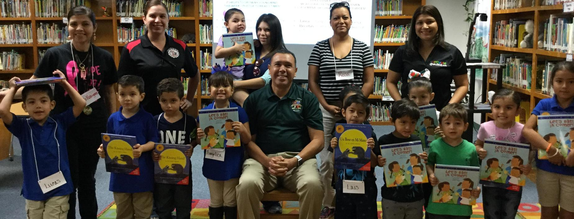 Travis Parents, Students and Dr. Rene Gutierrez