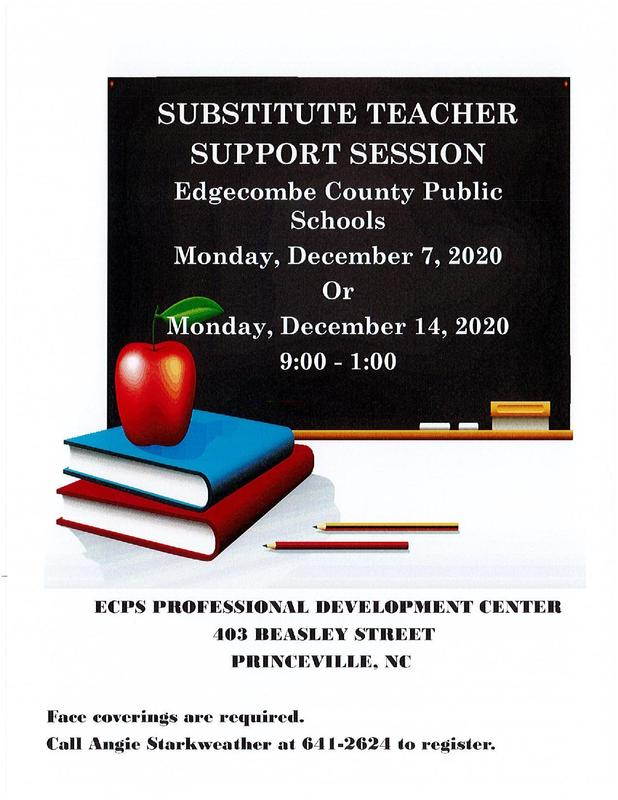 ECPS SUBSTITUTE TEACHER SUPPORT SESSION Featured Photo