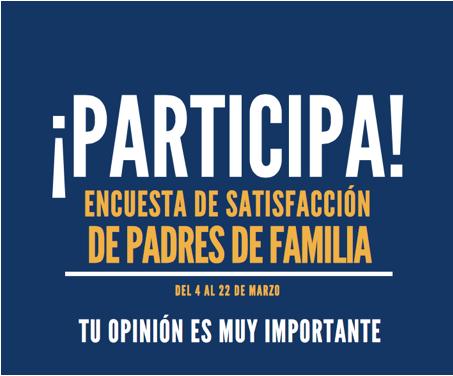 Encuesta de Satisfacción de Padres de Familia 2019 Featured Photo