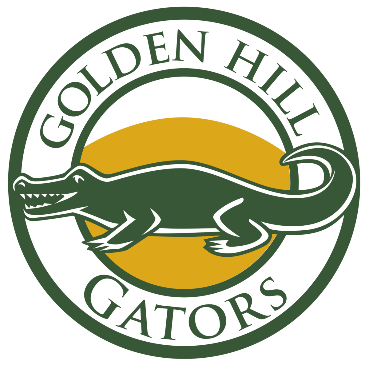 Golden Gator Logo