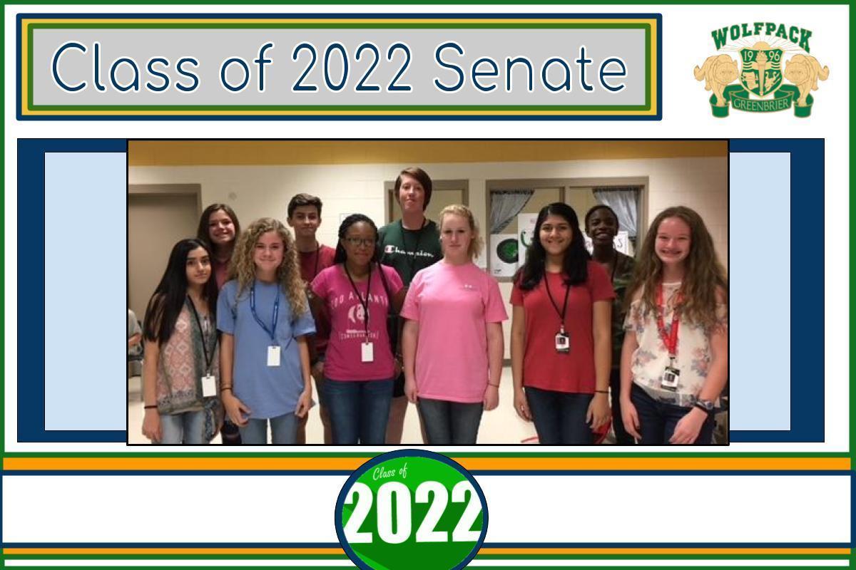 Freshman Senators