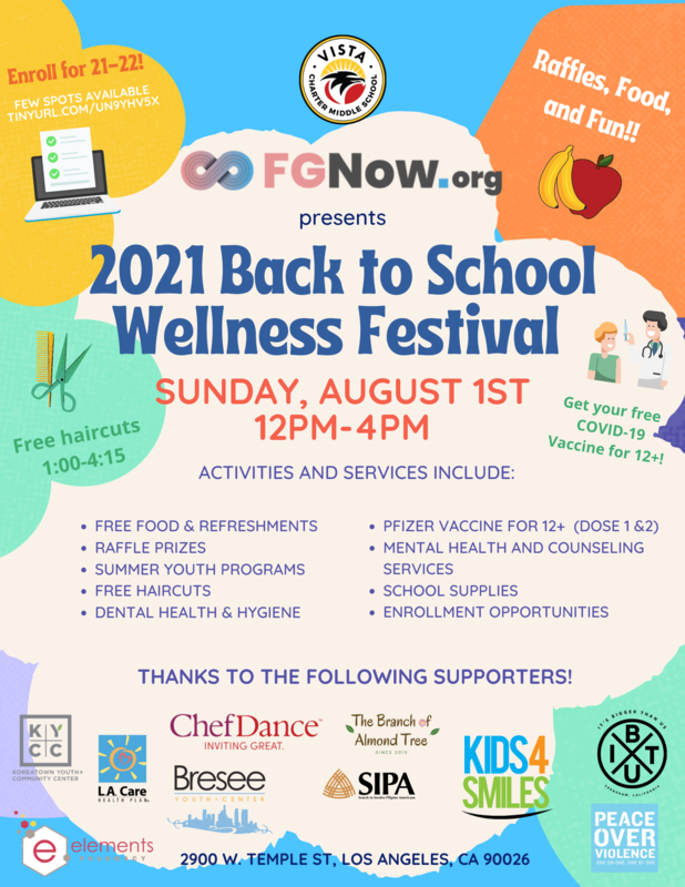 2021 Back to School Wellness Festival Featured Photo