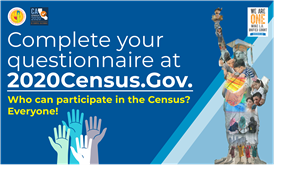 Complete your 2020 Census Questionaire Featured Photo