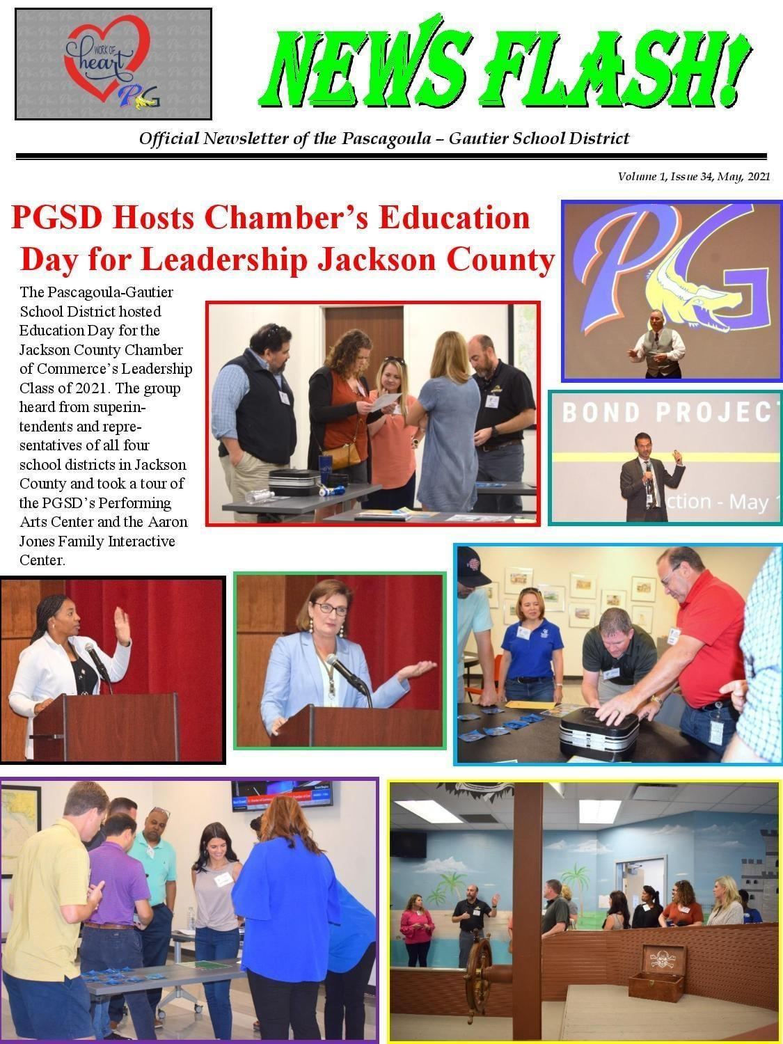 PGSD Hosts Chamber's Education Day for Leadership Jackson County