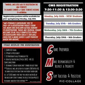 2021-22 CMS Registration Info