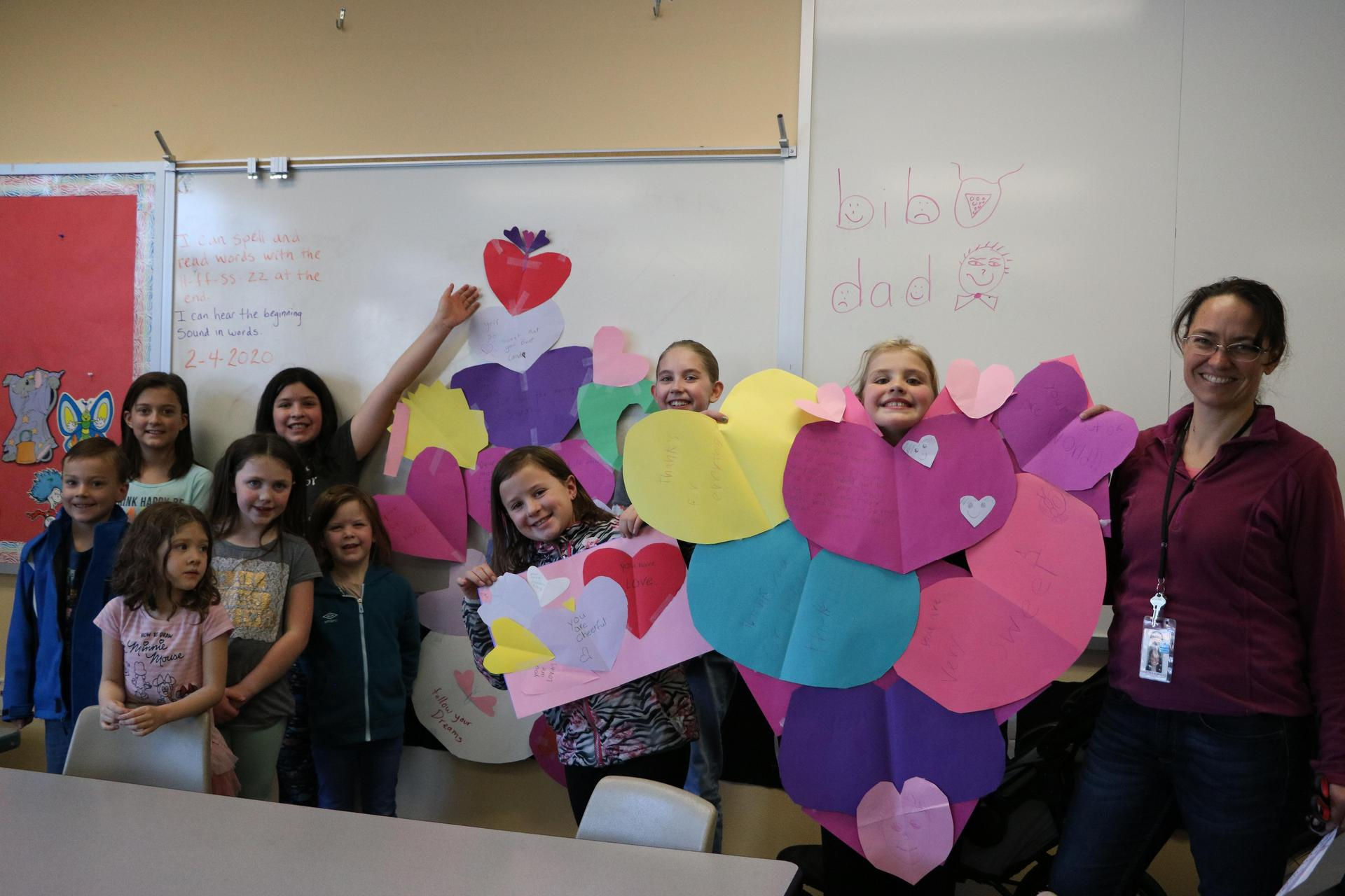 Shared School Valentine's Project