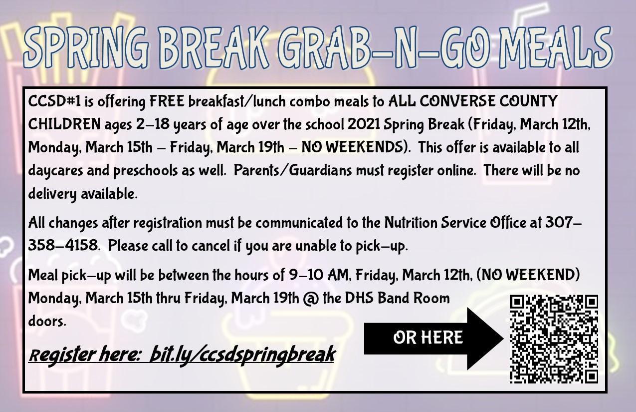 Sprig Break Grab N Go meals