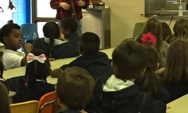 Santa Clause's Little Brother Visits GCES