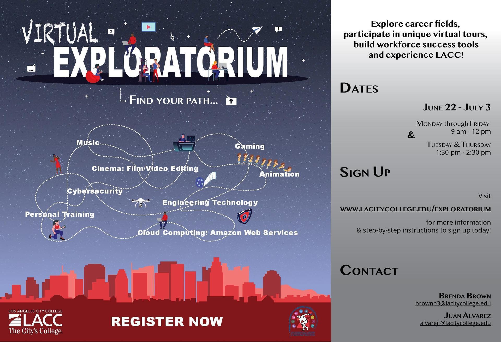 Virtual Exploratorium 2020