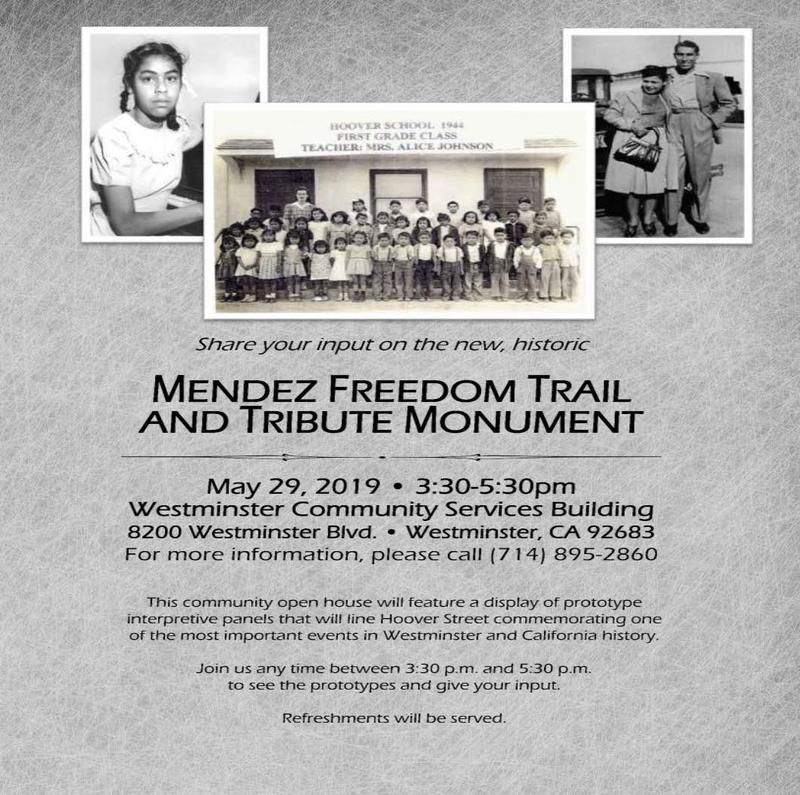 Community Open House for Mendez Freedom Trail
