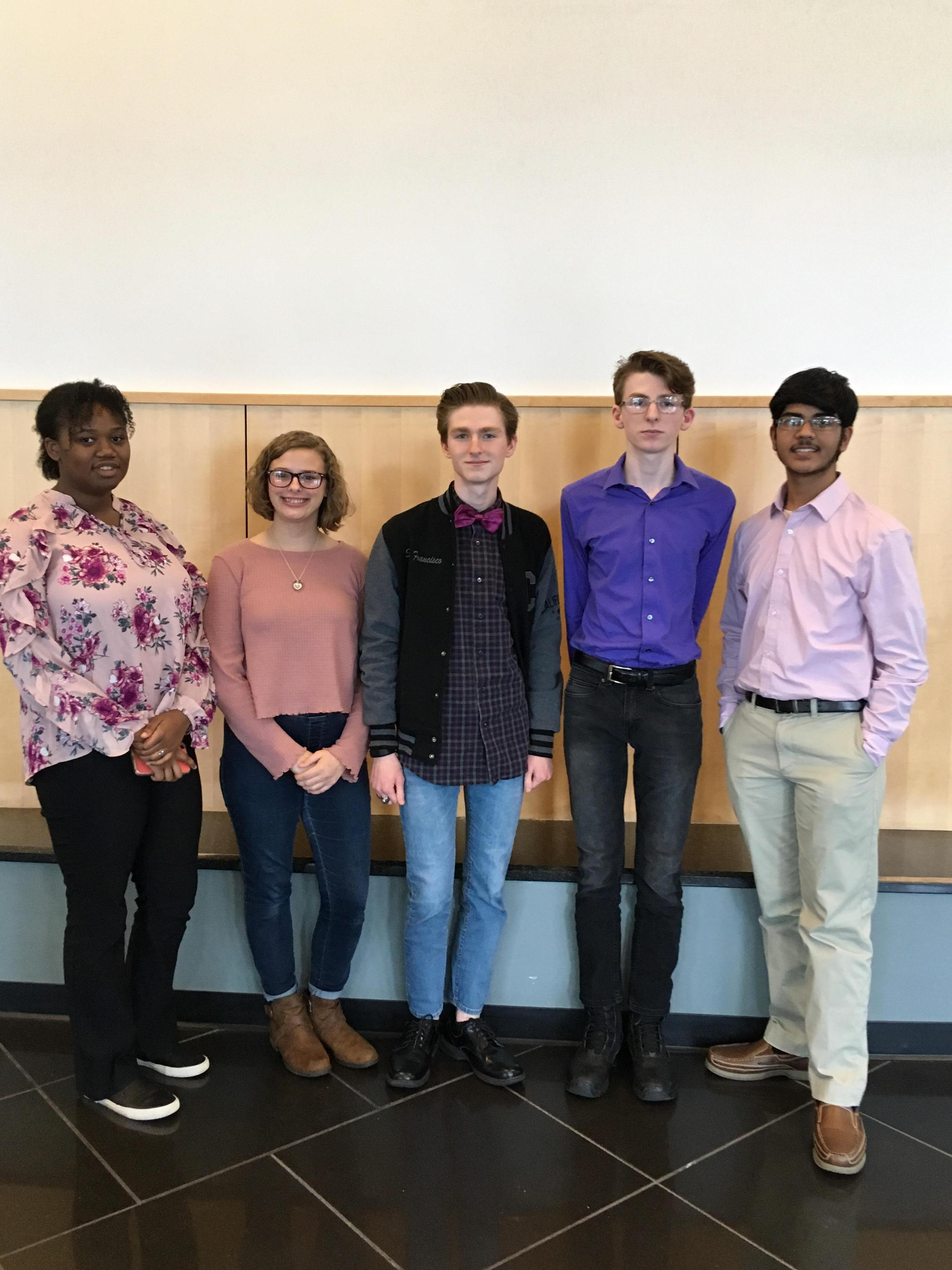 Jordyn Fleming and Taralyn Crozier placed third in the the humorous and dramatic speaking competitions.  Tirth Patel and Dalton Whitehurst participated in the duo speaking event, and Ryan Whitehurst coached all of our speakers.