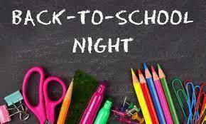 Back to School Night Teacher Presentations Thumbnail Image