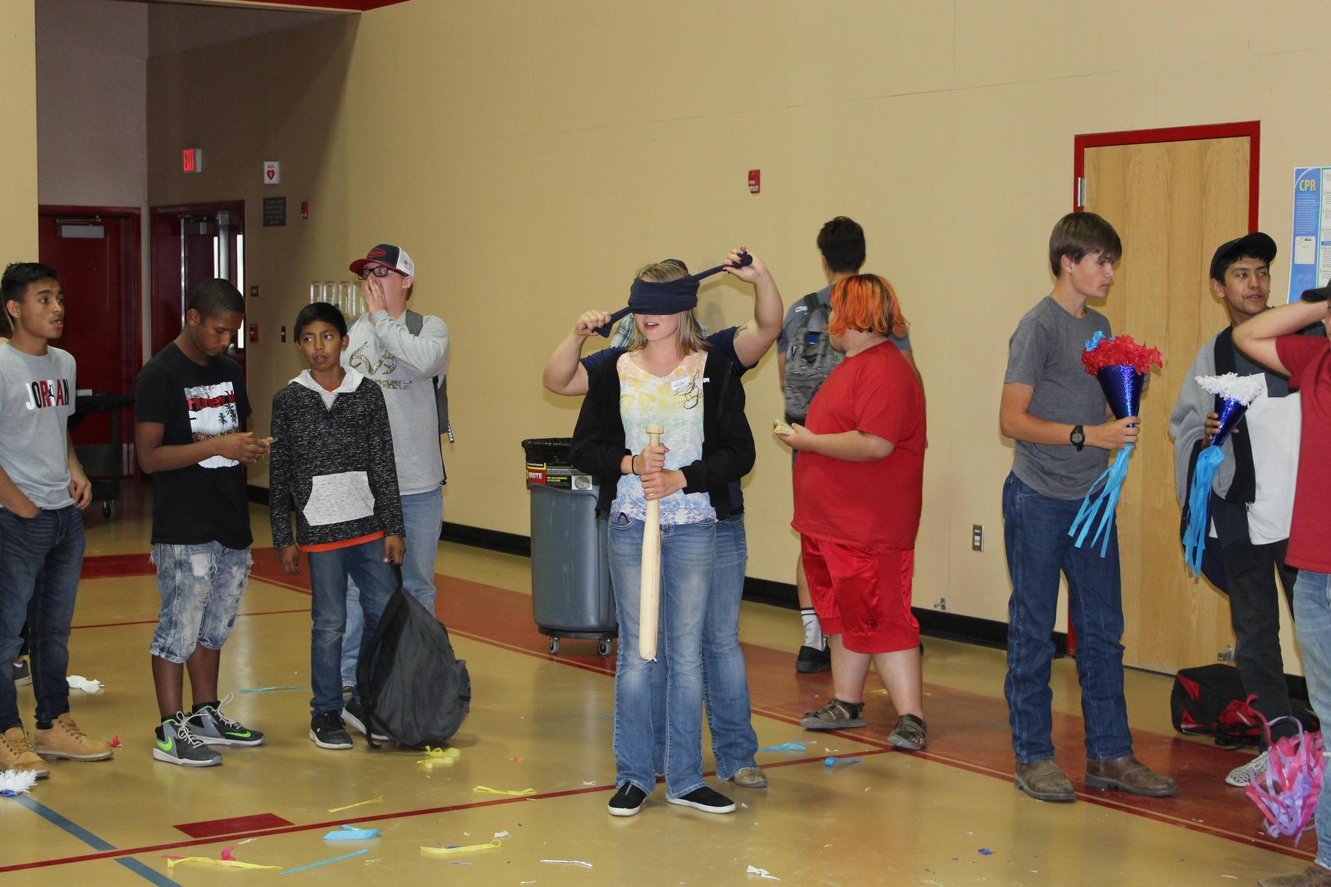 Students at the September FFA meeting
