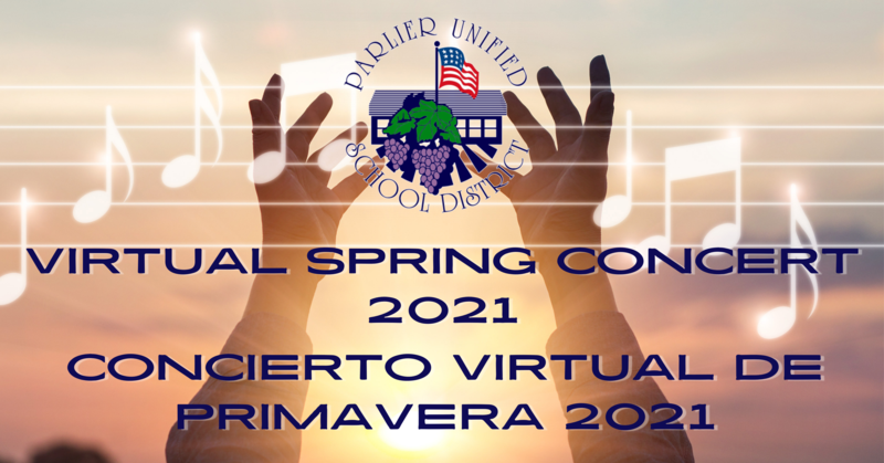 PUSD Virtual Spring Concert 2021 Featured Photo