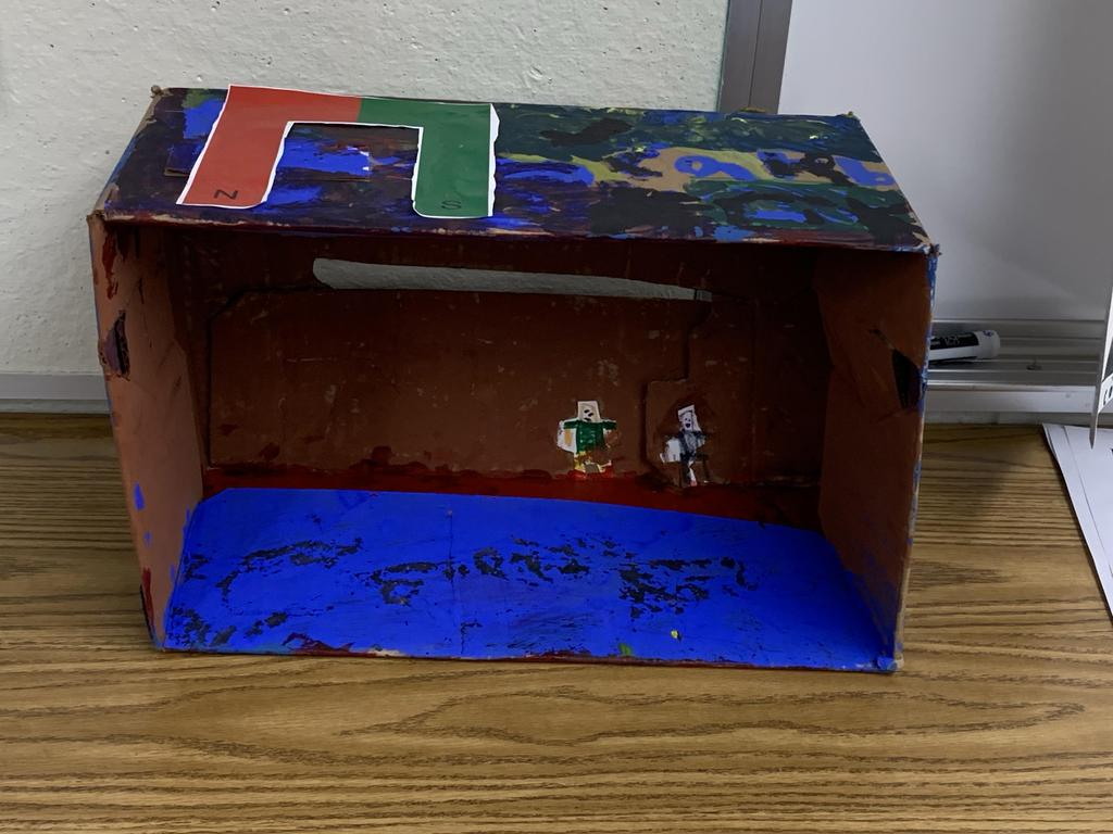 Student Diorama