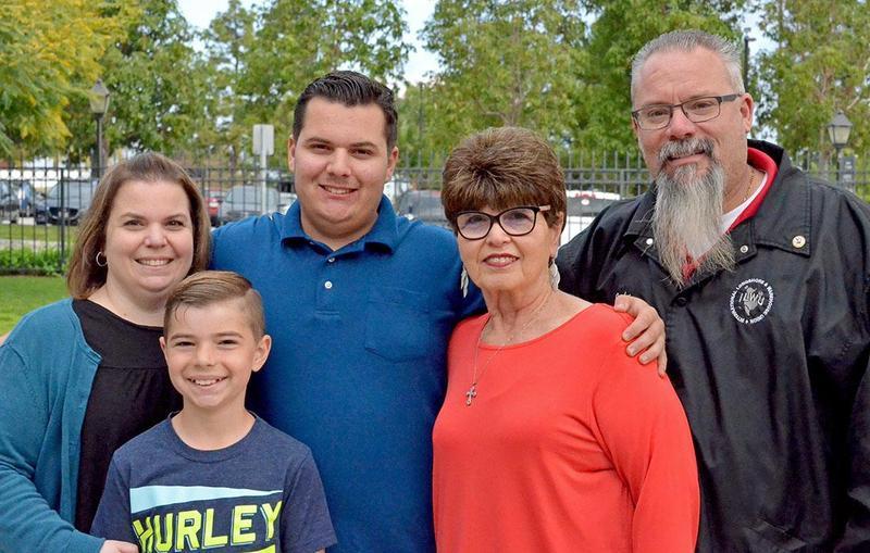 Jonathan and his family