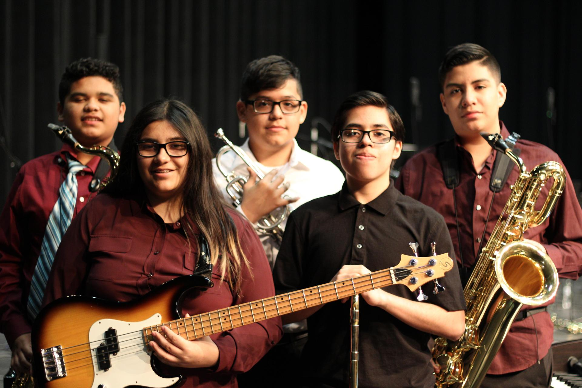 2020 MS All-Region Jazz Band Members