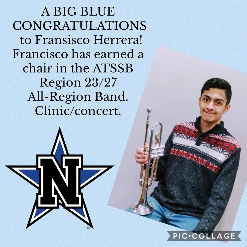 NHS BAND STUDENT EARNS PLACE AT ALL REGION Featured Photo