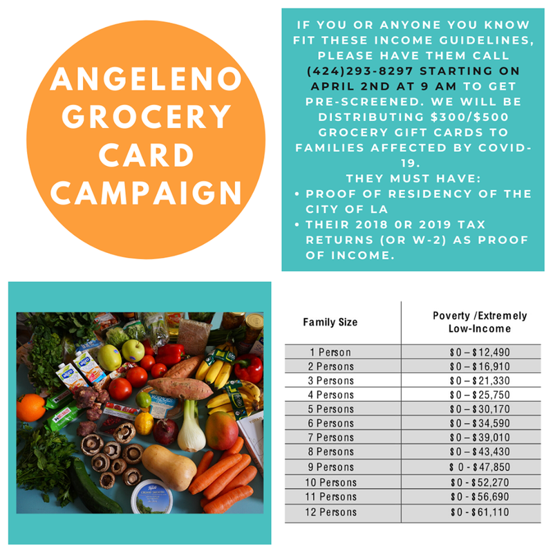 ANGELENO GROCERY CARD OPPORTUNITY Featured Photo