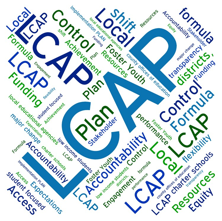 Word image graphic for LCAP