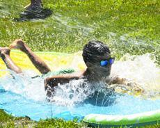 Camp Wanaqua Water Play Fun and Slide