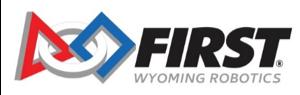 FIRST Wyoming Robotics Logo