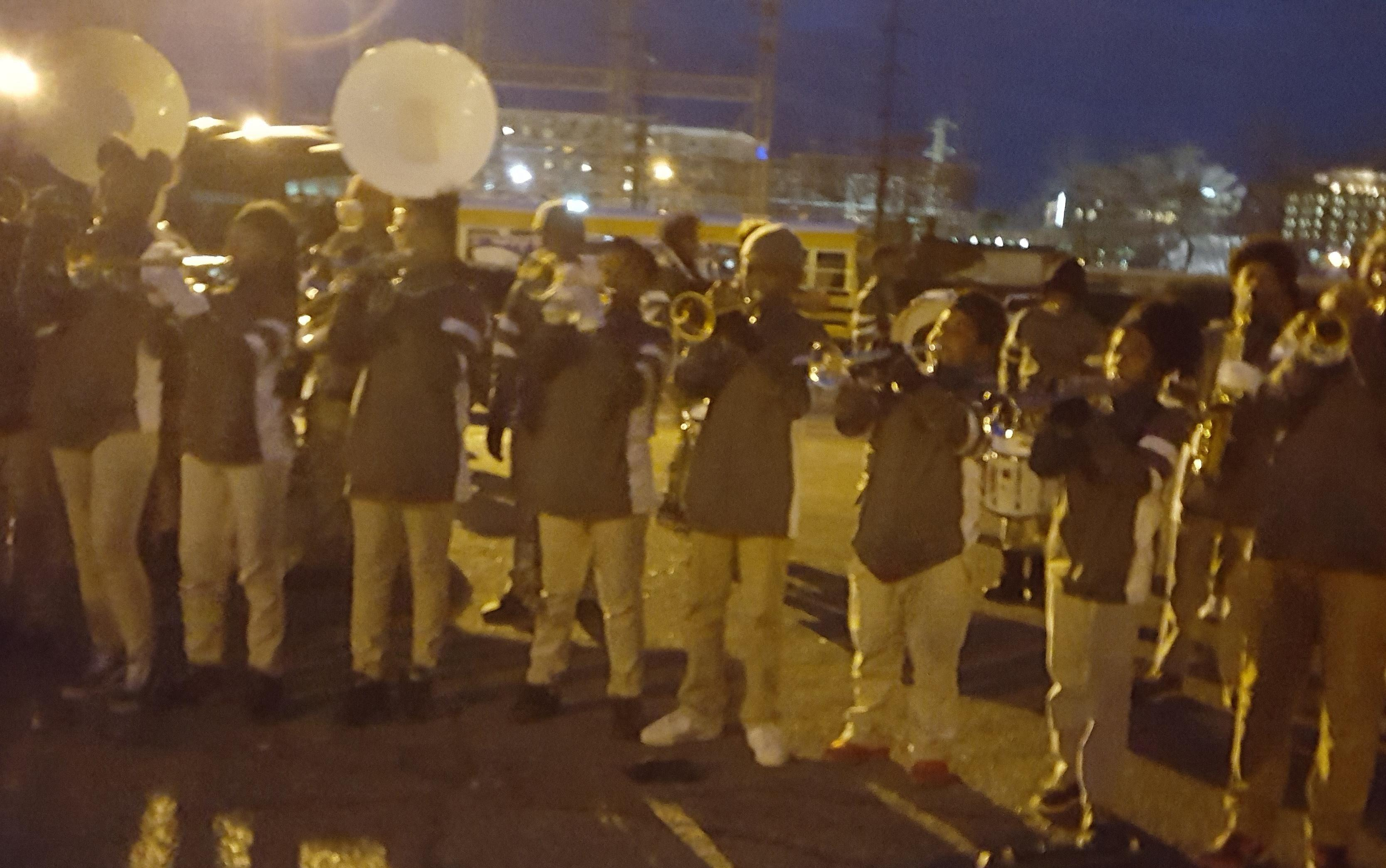 Photo of Baker Middle School Band at the Krewe of Artemis Parade 2018
