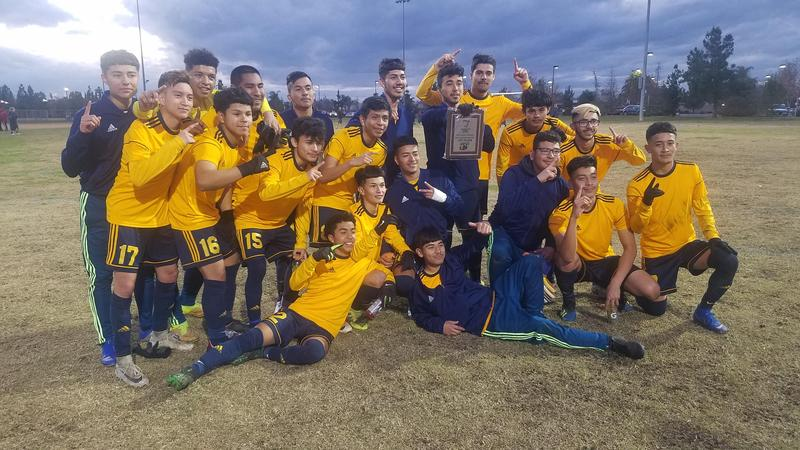 Boy's Soccer Team Takes the Championship in OT and Penalty Kicks! Thumbnail Image